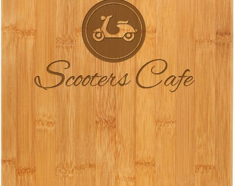 Personalized Bamboo Cutting Board - Full Customization