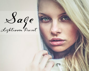 Sage Instagram Inspired Lightroom Preset Professional Photo Editing for Portraits, Newborns, Weddings By LouMarksPhoto