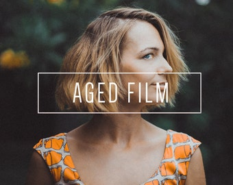 Aged Film Indie Muse Collection 3 Presets  4 Tool Presets 9 LR Brushes Lightroom Presets for Professional Results by LouMarksPhoto