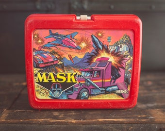 Vintage Mask Lunch Box