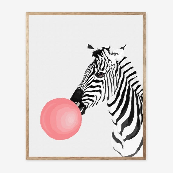 Pink And Zebra Room Decor