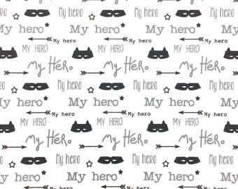 My Hero fabric - cotton Oeko Tex