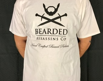 X-Large Bearded Assassins T-shirt