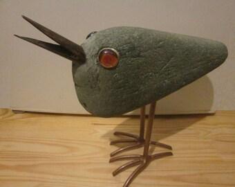 12 bird,  35 x 45 cm