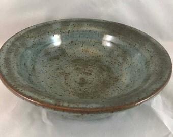 Blue(ish) Stoneware Bowl