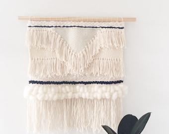 Woven Wall Hanging: Boho Tapestry, Quibray Bay Weaving
