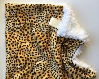 Leopard Crib Bedding Etsy