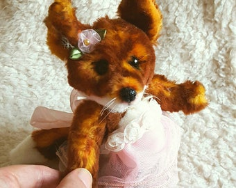 Miss Toscana Fox OOAK Artist Teddy Bear
