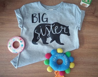 Big Brother/Sister Bear Toddler Shirt