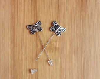 Butterfly Counting Pins