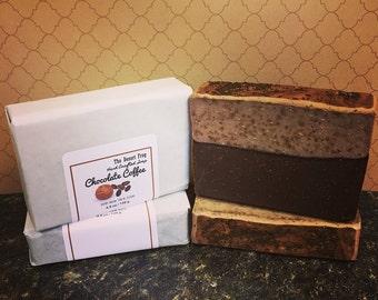 Chocolate Coffee Bar Soap