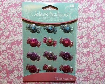 Candy resin stickers by Jolee's Boutique