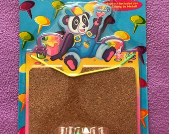 90's Lisa Frank Panda Painter Terrific Tacks Up Board Unopened