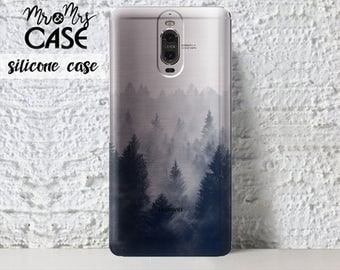 Huawei P9 case-Clear Forrest case-Honor 7 case-Huawei Mate 9 Pro-Huawei G7-Huawei P9 lite-honor 8 cell cases-Huawei P9 plus-Huawei P8 lite