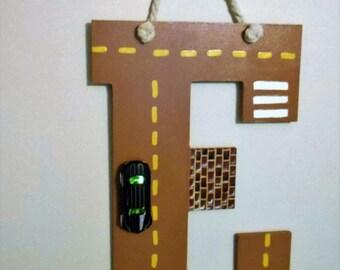 Letter E Alphabet Road
