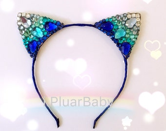 Diamond Cat ear headband
