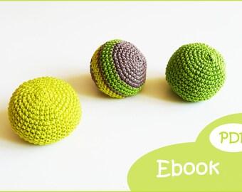 Ball, juggling balls crochet pattern crochet, crochet eBook, PDF crochet, crochet pattern, balls, Juggling balls