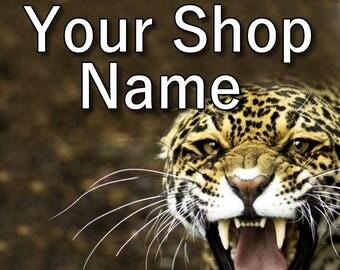Wildlife Banner Set, Shop Banner Set, Graphic Design, Shop Banner, Custom Banner, Cover Photo, Banner Design, Premade Banner