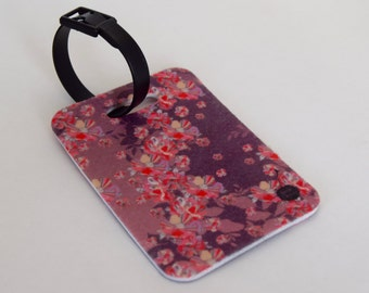 Luggage Tag featuring our Blossom Print
