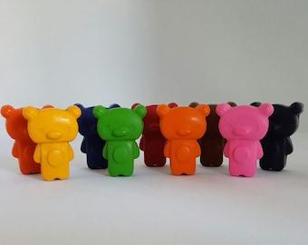 Bear Crayons, 10 pack