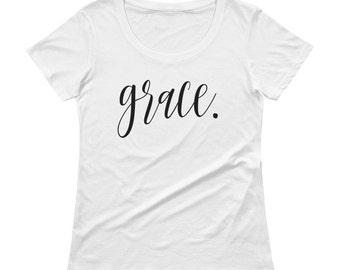 Grace Tee-Inspiration-Faith-Women's T-shirt-Ladies