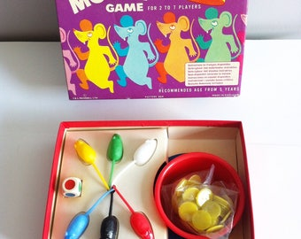 MERIT Mouse Game, 1970s game, complete and as new.