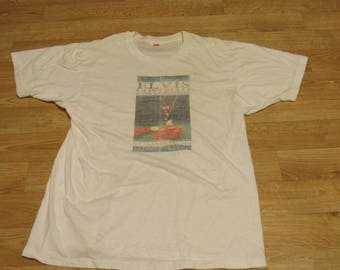 Vintage Elvis Costello and the attractions shirt 80s Summer 84