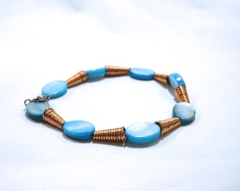 Copper and Blue