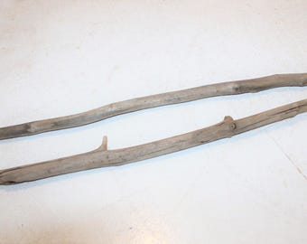 """18-22.5"""" Driftwood Pieces Eye Catching Sticks Washed Driftwood Pieces Straight  Wooden Dowel For Macrame Wood Sticks Weaving Wall Hanging"""