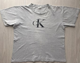 Vintage Calvin Klein T Shirt Made In USA