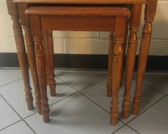 Nesting Table Set by Powell 3 piece