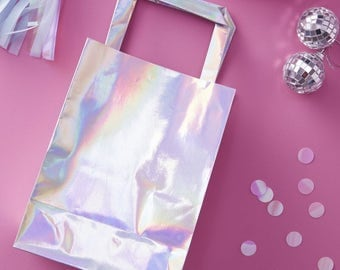 Iridescent Party Bags | Unicorn Party Bags | Mermaid Party Gift Bags