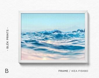 Ocean prints, Ocean Photography, Ocean Poster, Ocean Wall Art, Sea Poster, Sea Print, Ocean Photo Prints, Scandinavian Art, Ocean Waves