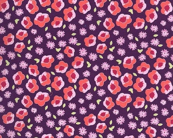 Flower Edging Fabric by Michael Miller