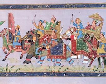 Bhutan art //  Lhazo painting // Silk Road