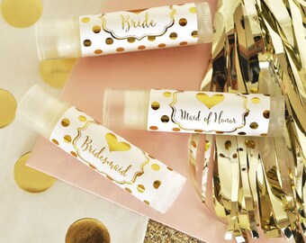 Bridal Party Lip Balm (set of 12)