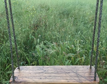 Reclaimed Wood Swing - Solid Maple
