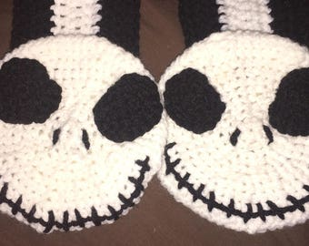 Jack the Pumpkin King inspired scarf