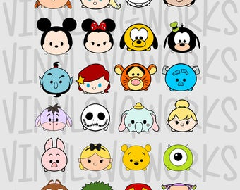 TsumTsum SVG FILE PACK