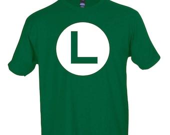 Luigi Symbol Graphic Funny T-Shirt