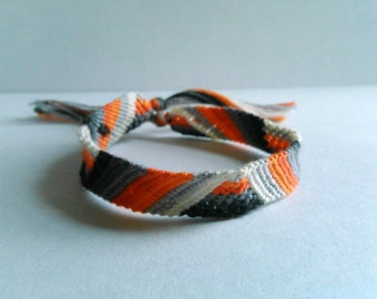 Zig-Zag Knotted Friendship Bracelet