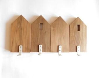 Modern Wall Coat Rack modern coat rack | etsy