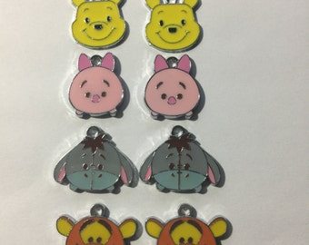 Winnie the Pooh Charms