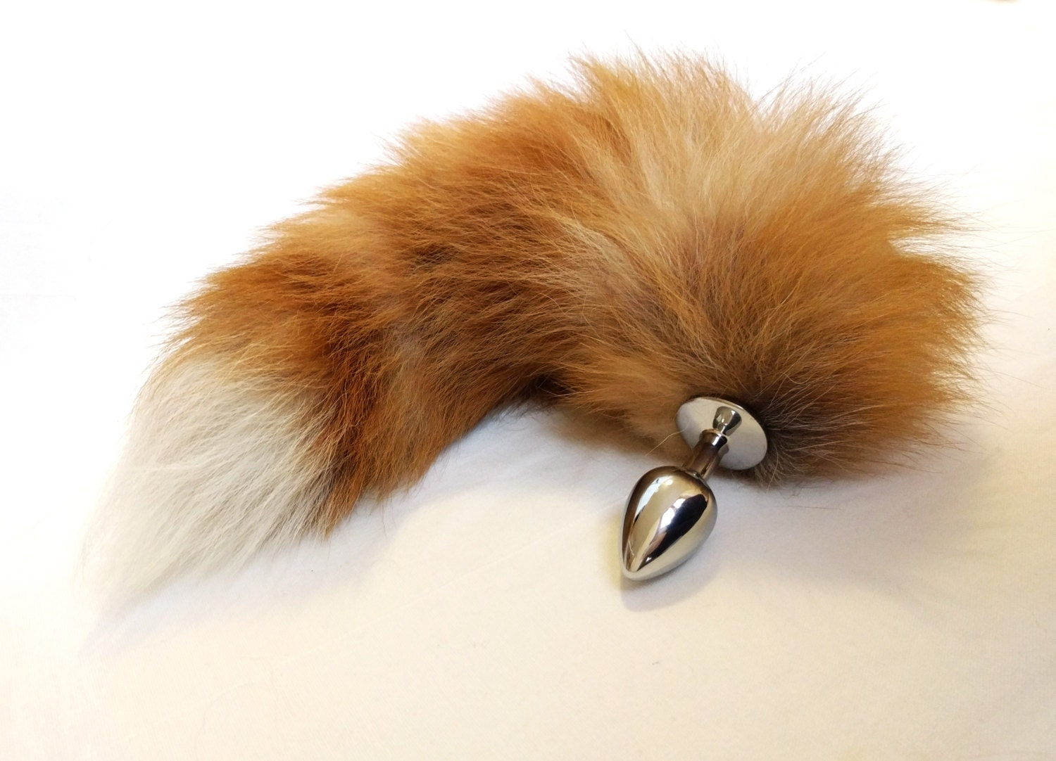 ass plug tail Red fox tail butt plug - Sexy erotic - BDSM toys - Adult toy - Red fox tail  anal plug - Gay sex toy - Jewelry butt plug - Sex slave - Mature