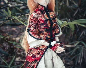 Limited Free shipping (airmail)BJD Chinese style girl dress