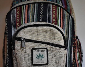 Vintage Hemp Backpack
