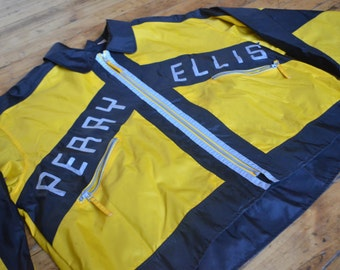 RARE!! Vintage 90s Perry Ellis Zip-Up Fall Style Jacket!