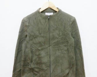 Hot Sale!!! Rare Vintage 90s MARC JACOBS LOOK Fleece Zip Jacket Hip Hop Hipster Woman Small (4) Size