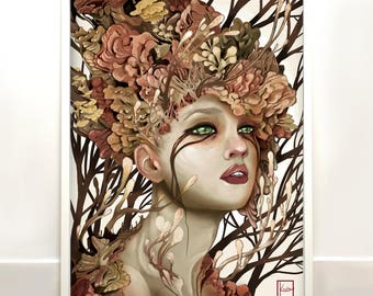 Growth - original signed high quality digital art print- wall art (limited to 40)