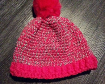 Tuque with pompon